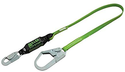 Honeywell 922PCR//6FTGN Miller by 6 Vinyl Coated Web Single-Leg Shock-Absorbing Lanyard with Locking Snap Hook Harness and 2 1//2 Locking Rebar Hook Anchorage 1 x 1 x 1 1 x 1 x 1 Plastic