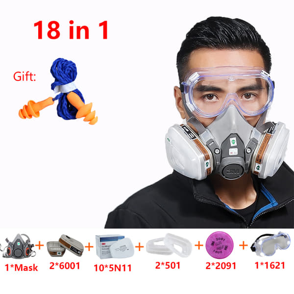 3m mask filters 6001