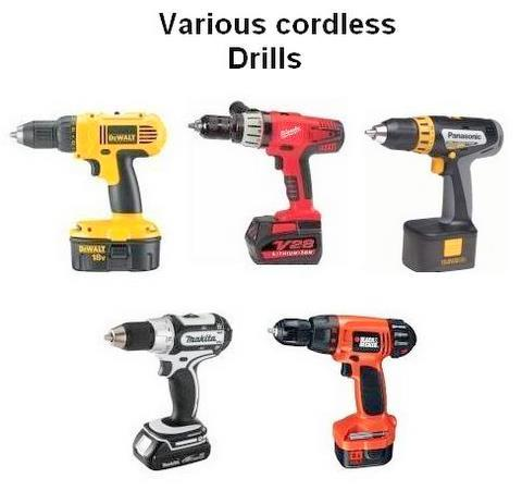 Cordless Drills