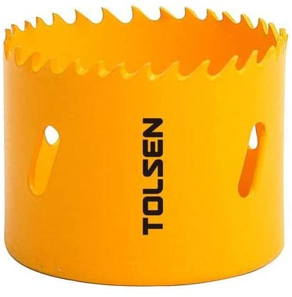 Tolsen Hole Saw HSS M3 Bi-Metal- 200mm,7-7/8""