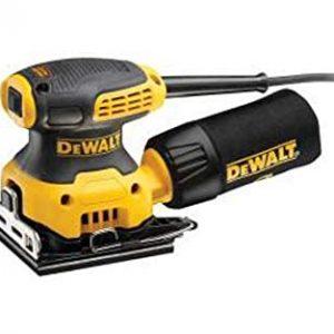 DeWalt 230W 14000 OPM Quarter Sheet Sander for Woodworking, Yellow/Black - DWE6411-B5