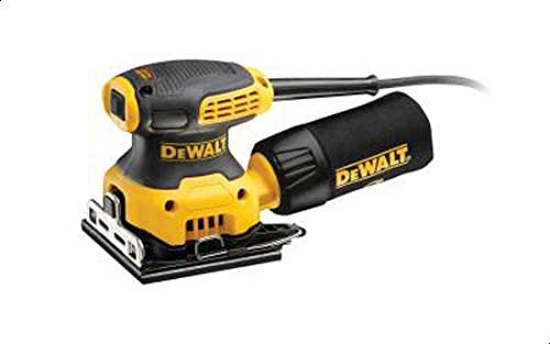 DeWalt 230W 14000 OPM Quarter Sheet Sander for Woodworking, Yellow/Black - DWE6411-B5