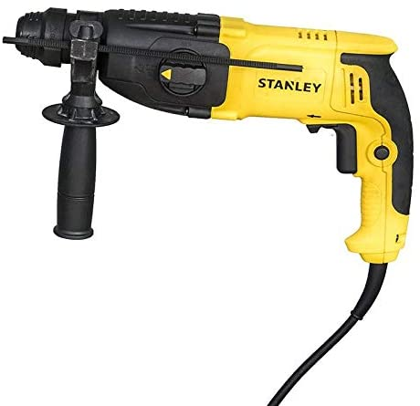 Stanley Power Tool, Corded 26mm 800W 3Mode SDS-Plus Hammer with Chuck,SHR263KC-B5