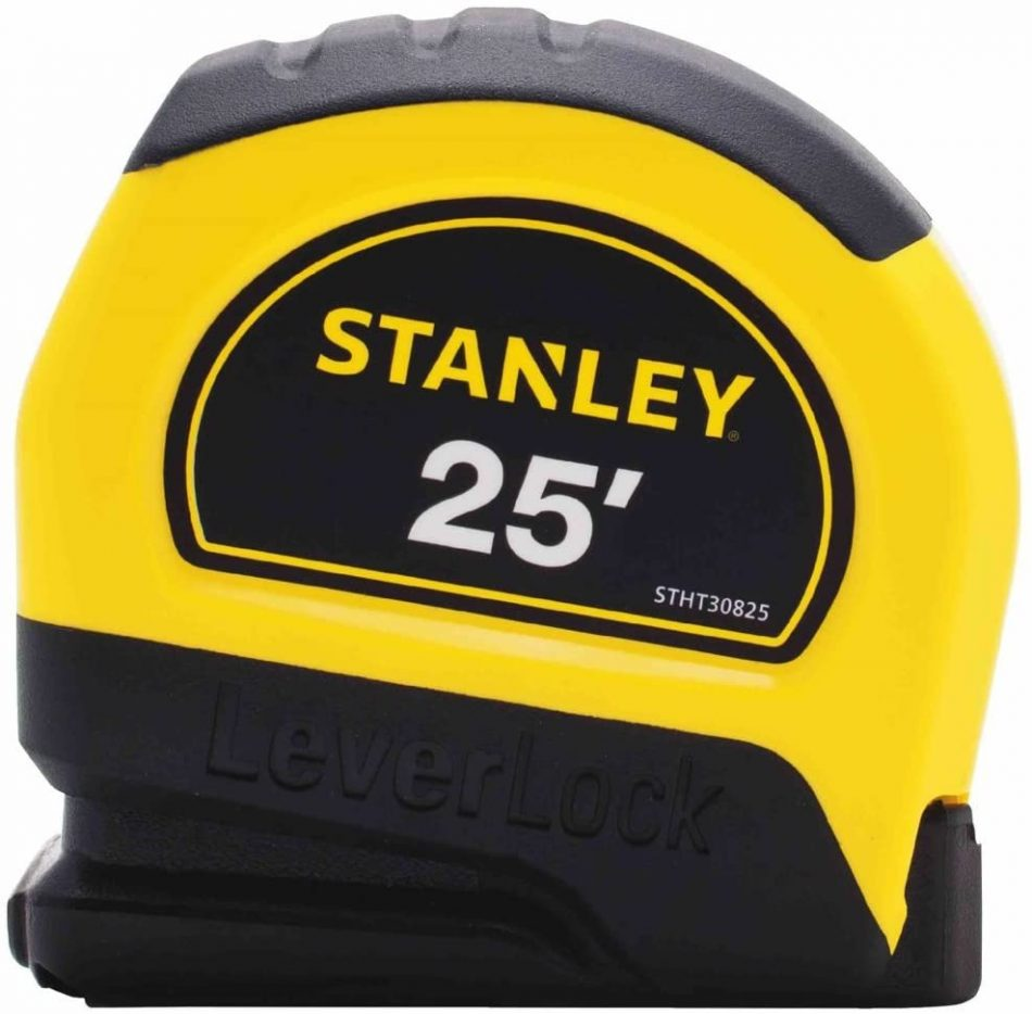 Stanley Hand Tools STHT30825 25' LeverLock Tape Measure