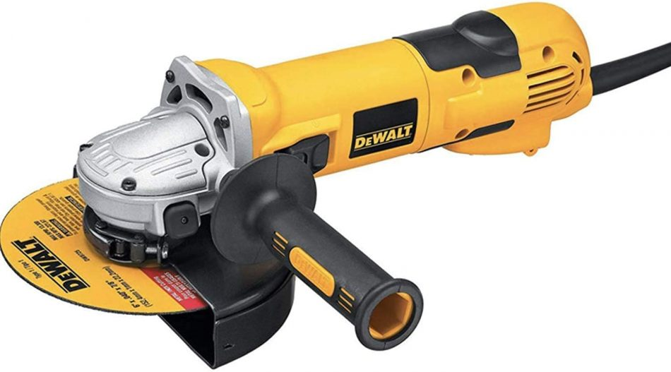 Dewalt Angle Grinder, Yellow/Black, 115 mm, Dwe4114-B5