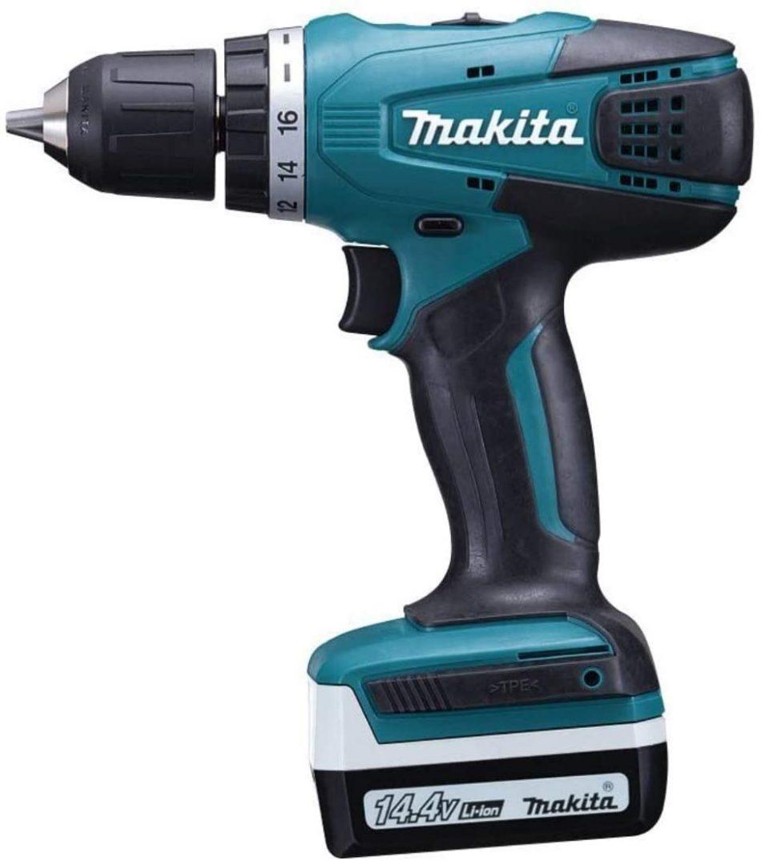 Makita 14.4V LXT Cordless Driver Drill 10mm, DF347DWE