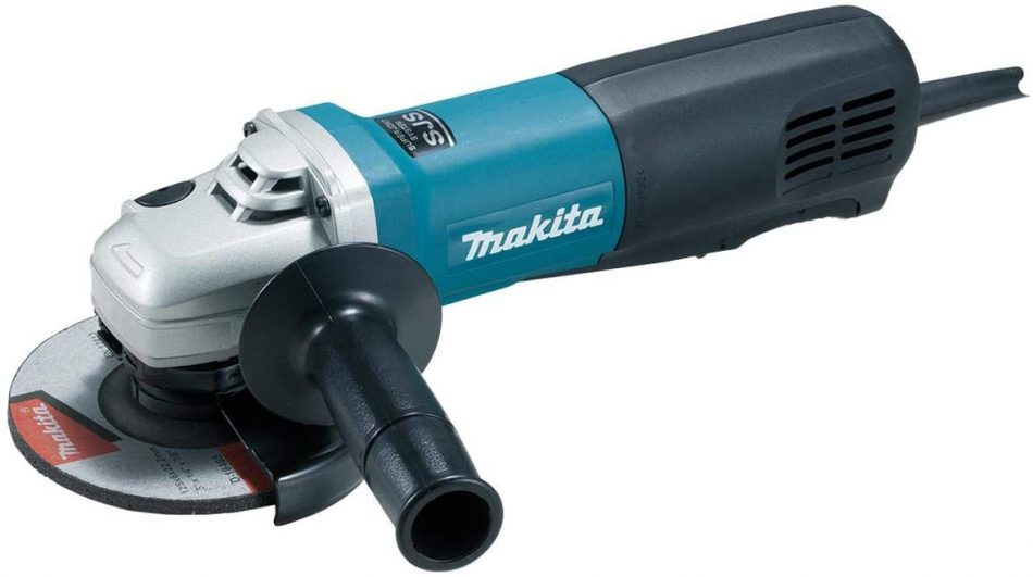 Makita 9565PZ Angle Grinder With Paddle Switch 125mm