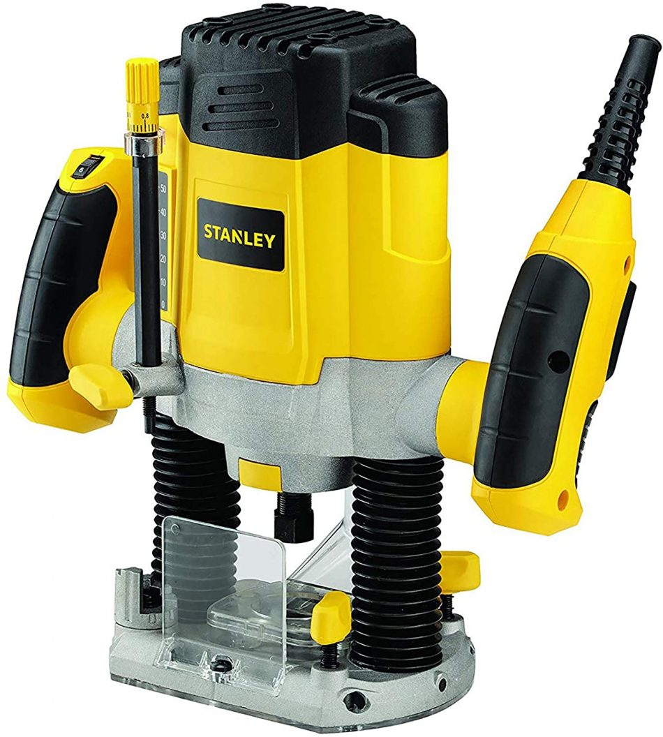 Stanley Power Tool,Corded 1200W PLUNGE ROUTER,SRR1200-B5