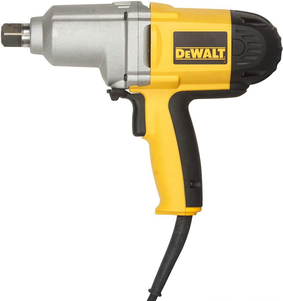 DeWalt 710W 3/4in Impact wrench, 440 Nm,Higher torque and faster speed, Yellow/Black, DW294-GB3 Year Warranty