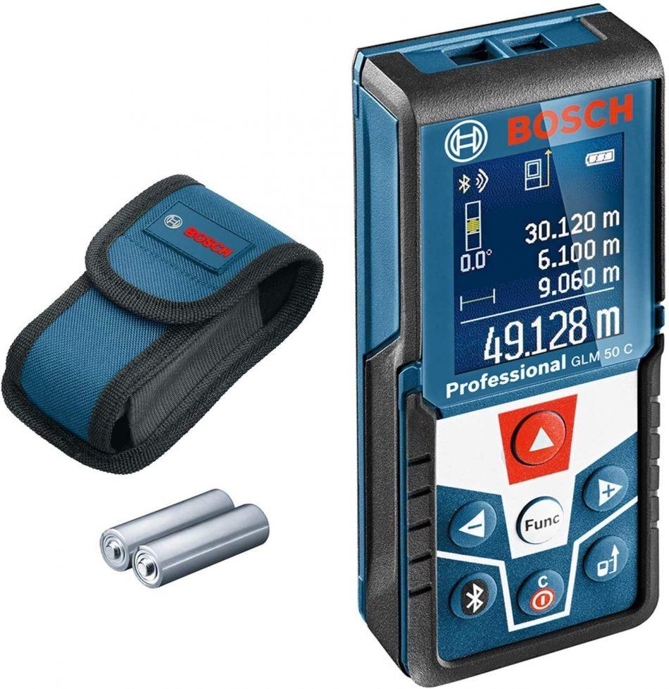 Bosch Professional GLM 50 C Laser Measure for Floorplan App - 0 601 072 C00