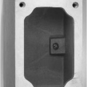 Crouse-Hinds EDS271 1/2-Inch Single Gang Feraloy Device Box