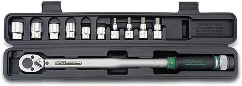 "TOPTUL - 11PCS 1/2"" DR. Torque Wrench Set - GAAI1102"