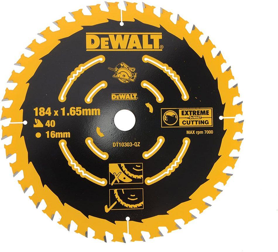 DeWalt DT10303-QZ 184 mm Framing Circular Saw Blade