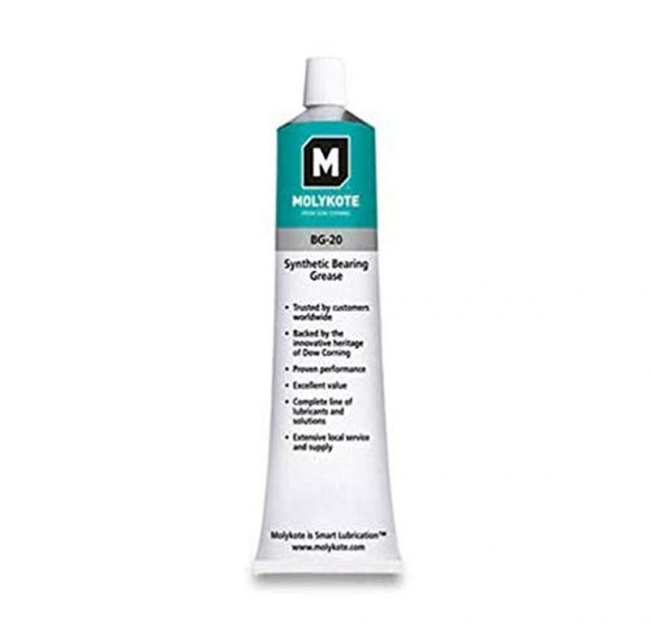 MOLYKOTE BG 20 High Performance Synthetic Grease 5.3OZ