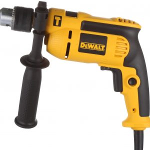 DeWalt 750W 13mm percussion drill with variable speed switch for Drilling concrete Metal wood, Yellow/Black, DWD024-B53 Year Warranty