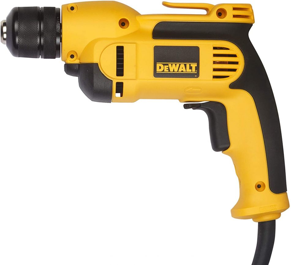 DeWalt Variable Speed Rotary Drill with Keyless All-Metal Chuck - DWD112S-B5