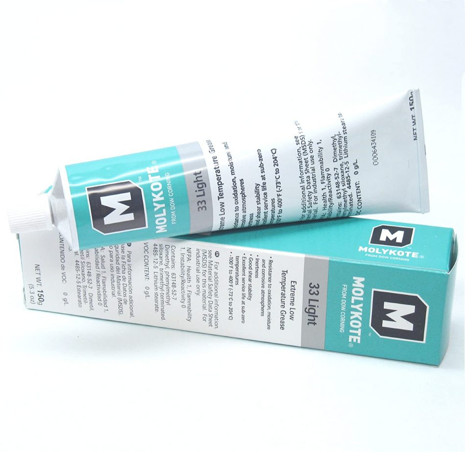 Dow Corning Molykote 33 Light Grease Lubricant 5.3oz 150g Tube